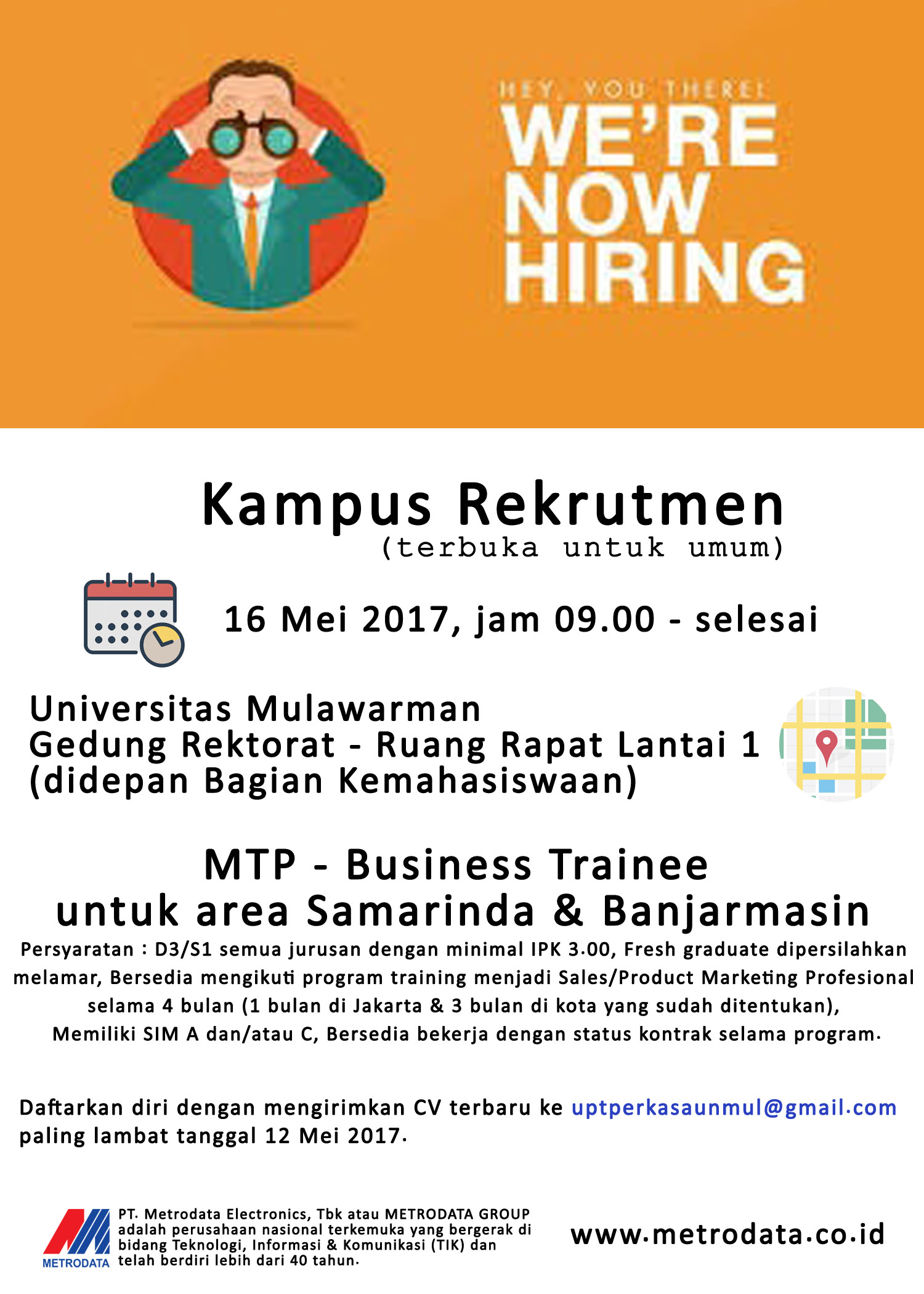 Lowongan Kerja Polnes Politeknik Negeri Samarinda Official Web