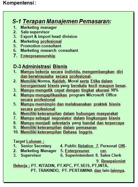Jurusan Administrasi Bisnis - POLNES (Politeknik Negeri ...