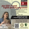9 weeks english speaking programme From ICEE 2020